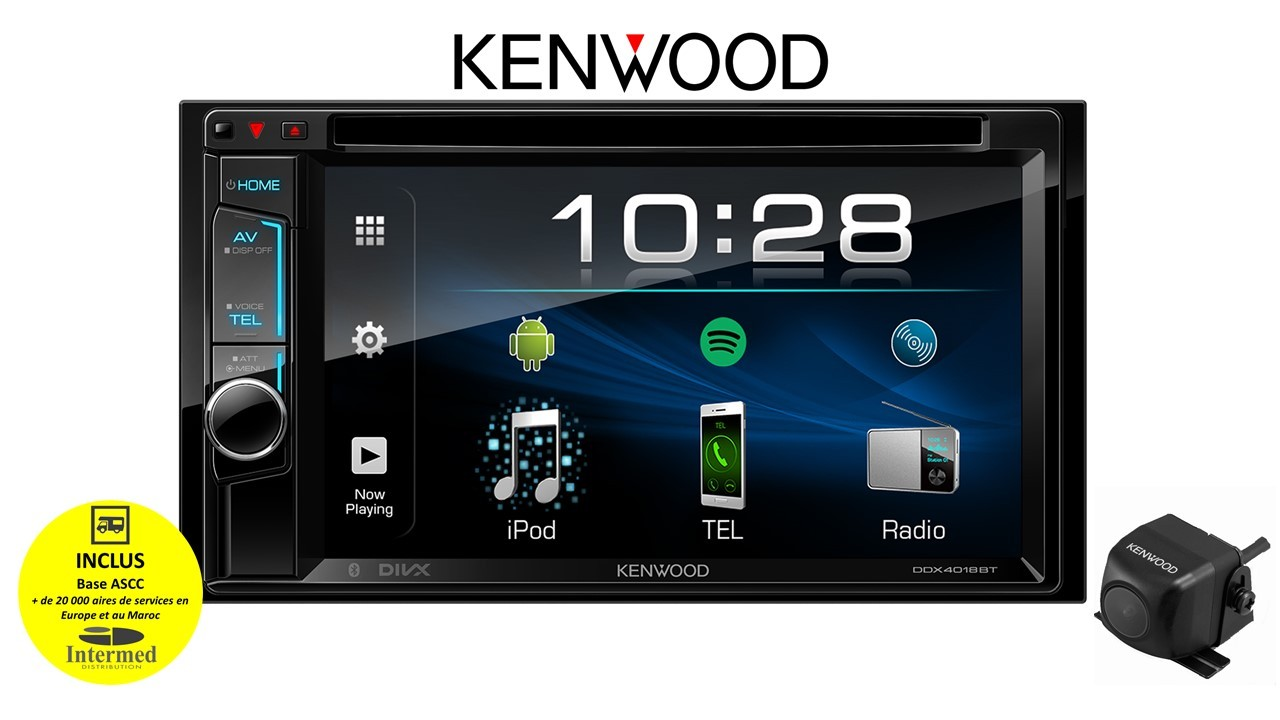 PACK MULTIMEDIA KENWOOD DDX4018CAMDUC