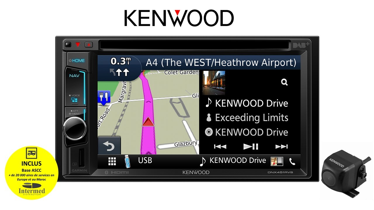 PACK MULTIMEDIA KENWOOD 451CAMDUC
