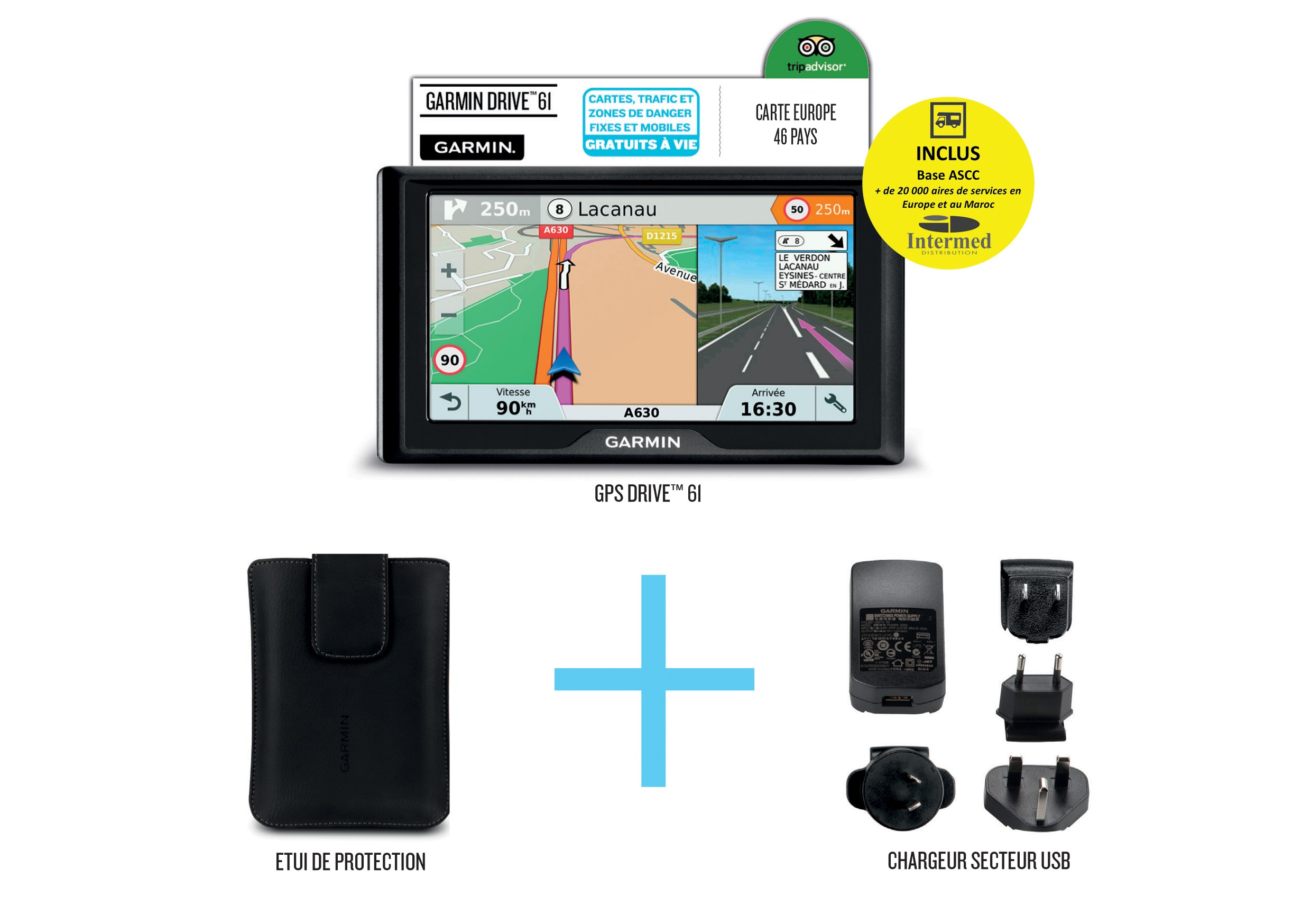 PACK FOURGON GARMIN