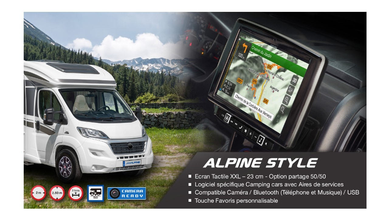 STATION MULTIMEDIA 2 DIN ALPINE X902DDUINT