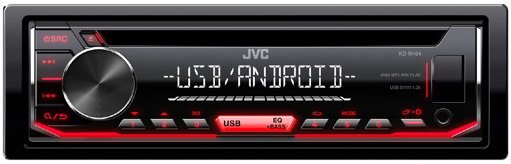 AUTORADIO JVC KD-R484