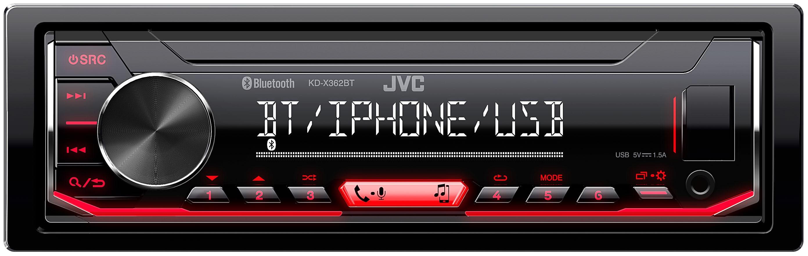 AUTORADIO JVC KD-X362BT