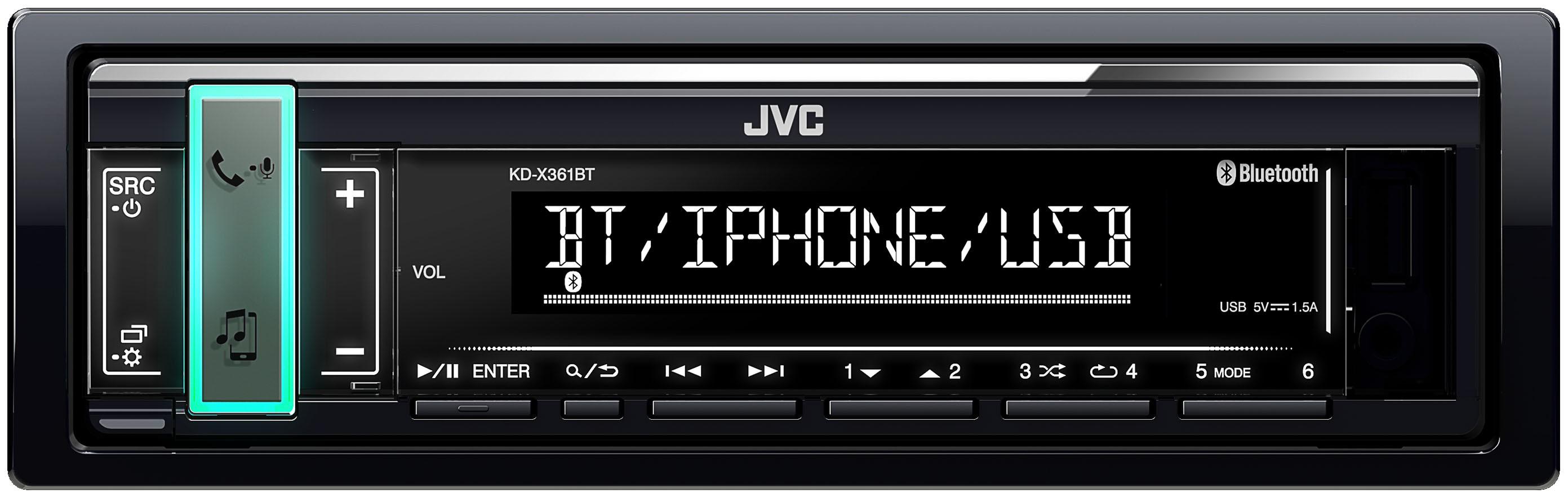 AUTORADIO JVC KD-X361BT