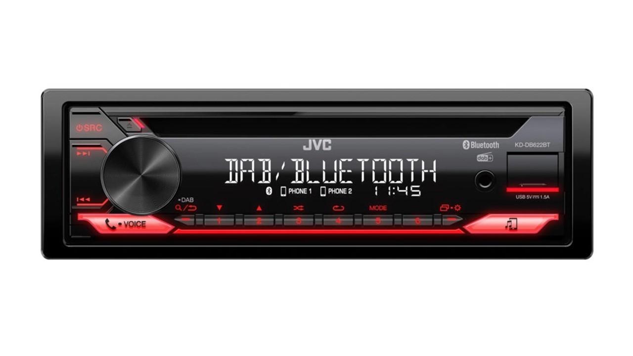 AUTORADIO JVC KD-DB622BT