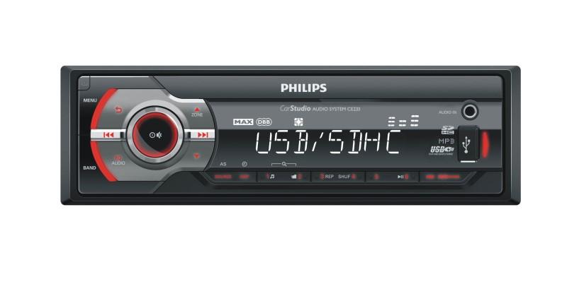 AUTORADIO PHILIPS CE233/19